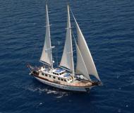 Segelyacht Gulet Yachtcharter in Bodrum Marina Milta