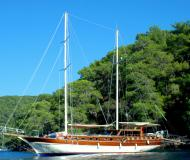 Segelboot Gulet chartern in Bodrum Marina Milta