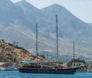 Yacht Gulet chartern in Kerkira Marina