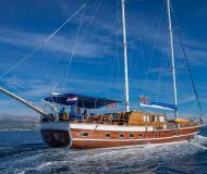 Segelyacht Gulet Yachtcharter in Stobrec