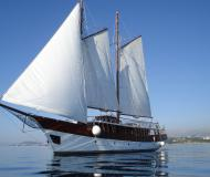 Sailing boat Gulet available for charter in Stobrec