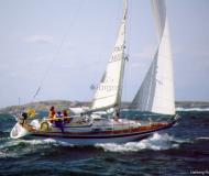 Sail boat Hallberg Rassy 36 for rent in Marina Burgtiefe