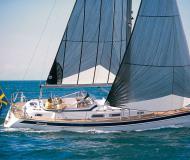 Hallberg Rassy 37 Segelyacht Charter Fehmarn