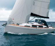 Sailing boat Hanse 345 for rent in Lefkas Marina
