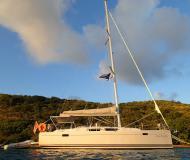 Sailing boat Hanse 385 for charter in Nanny Cay Marina