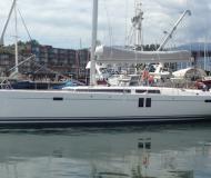 Yacht Hanse 495 Yachtcharter in Granville Insel Boatyard