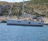 Sailing yacht Hanse 545 for rent in Marina Seget Donji