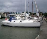 Segelboot Harmony 34 Yachtcharter in Hafen von Yerseke