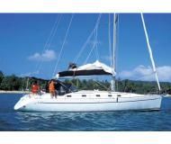 Sailing yacht Harmony 47 available for charter in Uturoa Marina