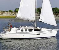 Sail boat Hunter 320 for hire in Flensburg