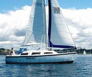 Sail boat Lotus 9.2 for charter in Gulf Harbour Marina