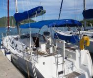 Sailing yacht Oceanis 343 for hire in Road Town