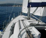 Sailing boat Oceanis 37 for hire in Palamos