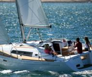 Sailing yacht Oceanis 37 available for charter in Palamos