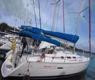 Sail boat Oceanis 373 available for charter in Clifton Harbour