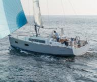 Sailing yacht Oceanis 38 for rent in Port de Pollenca town