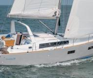 Sailing boat Oceanis 38 available for charter in Lefkas