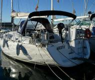 Sail boat Oceanis 40 available for charter in Palamos