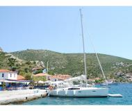 Sailing boat Oceanis 40 available for charter in Port of Skopelos