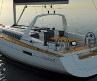 Segelyacht Oceanis 41 Yachtcharter in Marina Uturoa