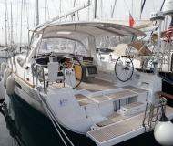 Sailing boat Oceanis 45 for charter in Port Goecek Marina