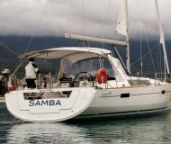Sail boat Oceanis 45 available for charter in Porto Montenegro
