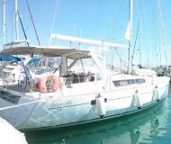 Sail boat Oceanis 45 available for charter in Gouvia