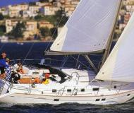 Sailing yacht Oceanis 46 available for charter in Volos Harbour