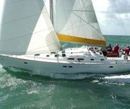Sail boat Oceanis 473 available for charter in Port of Thira