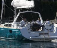 Sailing yacht Oceanis 48 for rent in Marina Eczanesi
