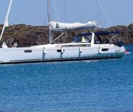 Sailing boat Oceanis 48 available for charter in Alghero