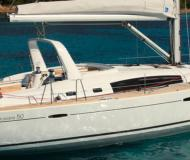 Sailing boat Oceanis 50 available for charter in Birgu