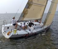 Sailing yacht Open 800 for hire in Dolgoprudny Marina