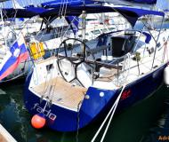 Sail boat Salona 37 for hire in Izola