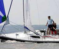 Sailing yacht Skippi 650 Cruiser for hire in Wasserburg