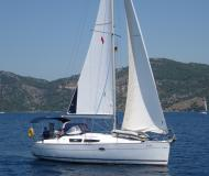 Yacht Sun Odyssey 32i for hire in Fethiye