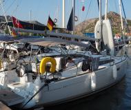 Sailing boat Sun Odyssey 349 for rent in Ece Saray Marina
