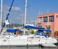 Sun Odyssey 35 Segelyacht Charter Pirgos Sani