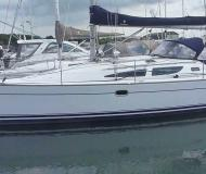 Sail boat Sun Odyssey 35 available for charter in San Vincenzo