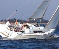 Sailing boat Sun Odyssey 36i for rent in Altair Marina