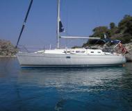 Sailing boat Sun Odyssey 37 available for charter in Marina di Scarlino