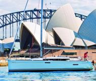 Sailing boat Sun Odyssey 389 for hire in Road Town