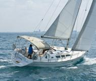 Sailing yacht Sun Odyssey 40.3 for rent in Finikas