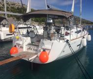Yacht Sun Odyssey 409 for hire in Marina Tankerkomerc