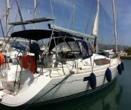 Sail boat Sun Odyssey 42 DS available for charter in Lefkas Marina