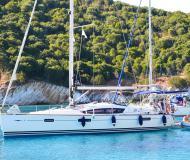 Segelyacht Sun Odyssey 42 DS Yachtcharter in Marina Lefkas