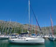 Yacht Sun Odyssey 42i available for charter in ACI Dubrovnik Marina