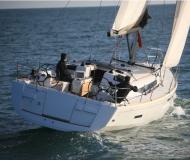 Sailing yacht Sun Odyssey 439 for rent in Ece Saray Marina