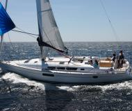 Sailing yacht Sun Odyssey 44i available for charter in Abel Point Marina