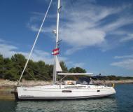 Segelyacht Sun Odyssey 44i Yachtcharter in ACI Marina Trogir